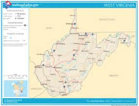 West Virginia State Map by West Virginia State Maps Interactive West Virginia State