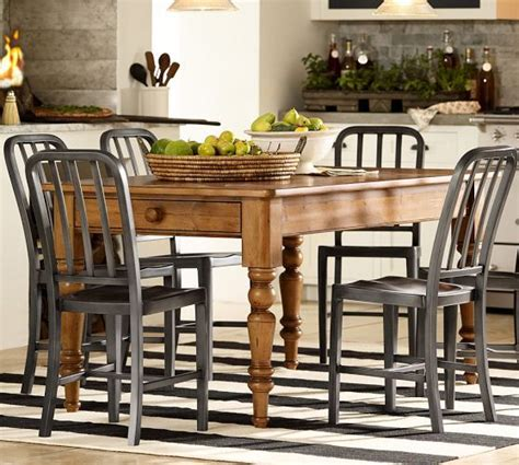 laney fixed kitchen table pottery barn ideas for the