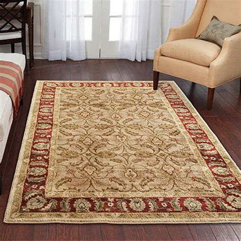 rug in walmart better homes and gardens karachi olefin rug bisque walmart