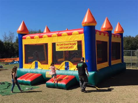castle bounce house bounce houses winter park orlando fl no limit event rentals