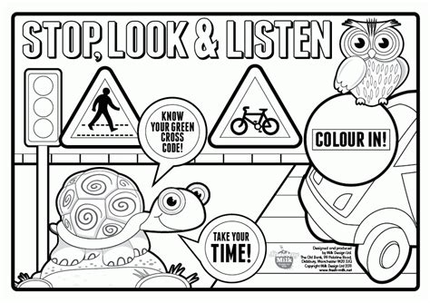 coloring pages for child safety coloring az coloring pages