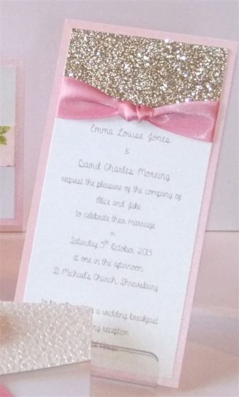 diy pink and gold wedding invitations diy glitter wedding invitations card design collection