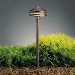 Kichler Path Light Kichler 15318azt Textured Architectural Bronze 23 Inch Outdoor Path Light Kic 15318azt