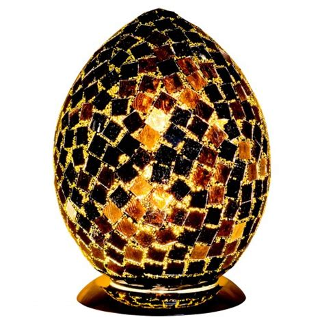 Mosaic Glass L by Mosaic Glass Egg L Mosaic Glass Egg Light Mosaic