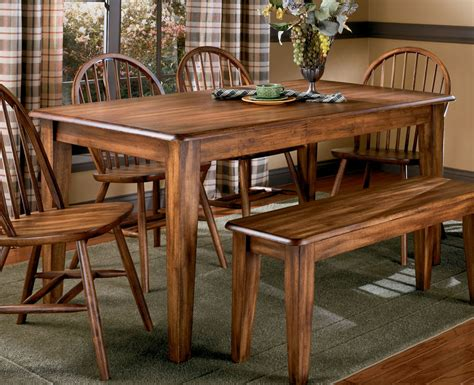 Ashley Furniture Dining Bench Berringer 60 Quot Dining Table By Ashley Furniture Tenpenny