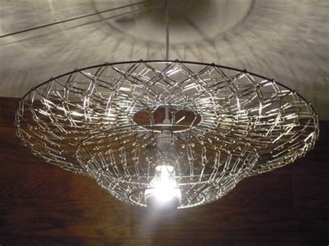 Paperclip Chandelier Savvy Housekeeping 187 Chandelier From Paper