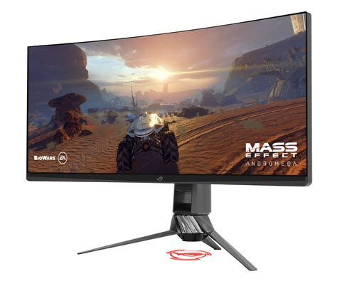 Asus Rog Monitor Led 24 Quot asus pg35vq and acer x35 35 quot ultrawide 1440p hdr
