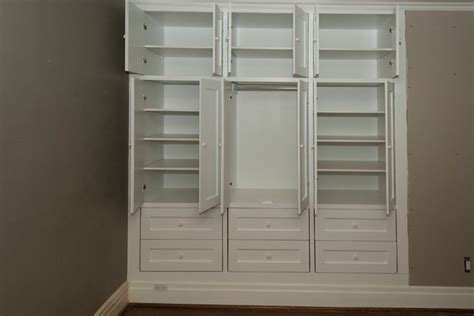 Builtin Closets by High Park Two Built In Closets Traditional Closet