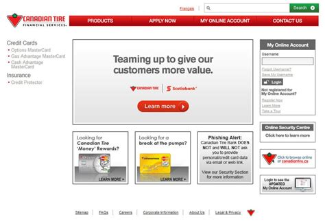 8 Financial Websites by Scotiabank To Buy 20 Per Cent Of Canadian Tire Financial