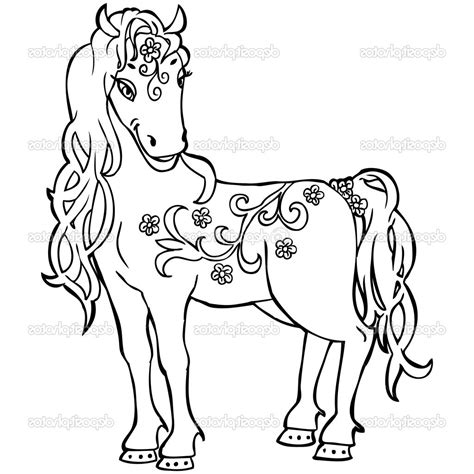 Baby Coloring Pages To Print by Coloring Pages Baby Horses To Print Coloring For 2018
