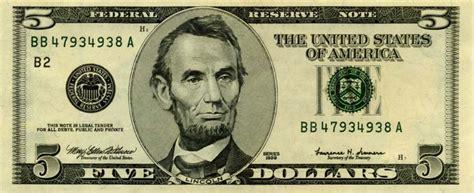abraham lincoln on dollar usa
