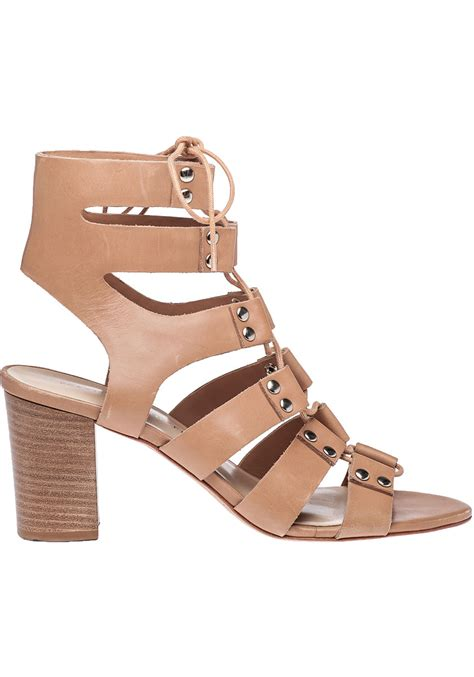 loeffler randall sandal loeffler randall hana leather sandals in lyst