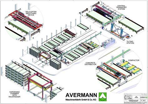 plant layout elements concrete plant precast technology