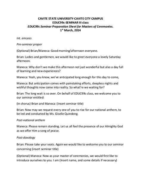 christmas party emcee script for school template script for emcees