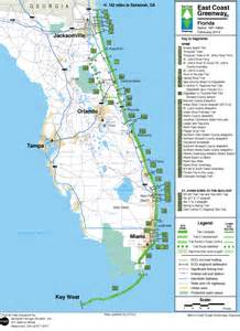 map of florida east coast towns deboomfotografie