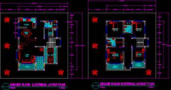 Floor Plan Design Autocad by Floor Plan In Autocad Drawing Bibliocad