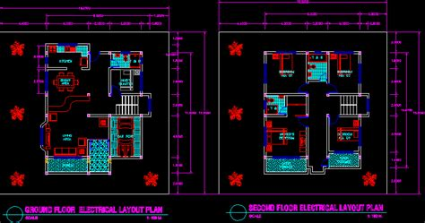 house floor plans for autocad dwg free download escortsea house plan autocad format home deco plans