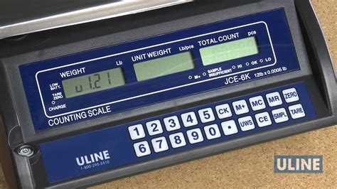 industrial counting scale in stock uline economy counting scale calibration