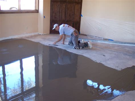 Floor Leveler by Epoxy Flooring November 2013