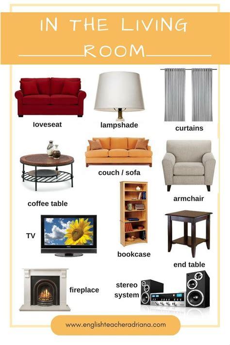 Living Room Furniture Names Living Room Furniture Names