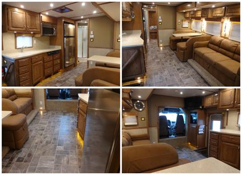 Custom Motorhome Interior