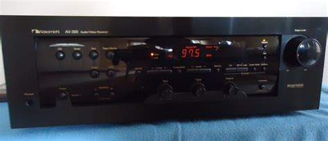 Home Theater Nakamichi nakamichi av 300 home theater receiver 5 1 see vintage electronics