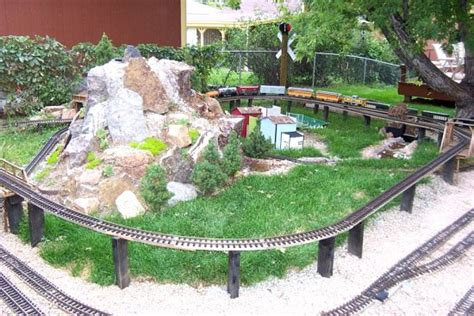 Garden Railroad Track Plans Garden Ftempo Garden Railroad Layouts