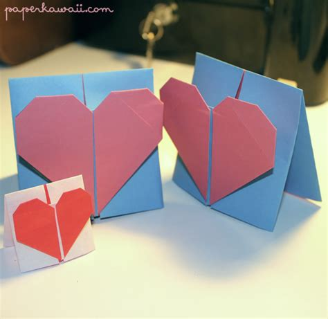 Origami Cards To Make - origami card 2018