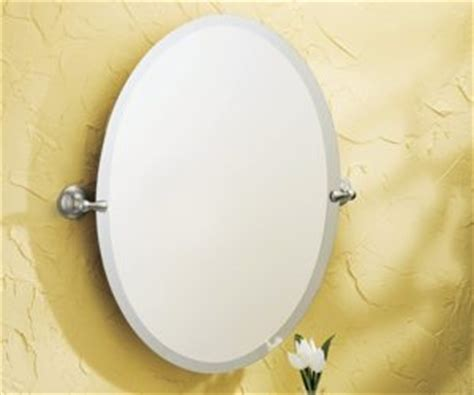 moen dn6892bn sage oval tilting mirror brushed nickel moen dn6892bn sage bathroom oval tilting mirror brushed