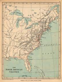 map of colonies in america map of european colonies in america size