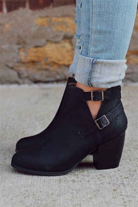 best 25 black ankle boots ideas on black
