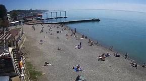 """Результат поиска изображений по запросу """"Джемете Веб камера онлайн пляж море"""". Размер: 289 х 160. Источник: youwebcams.org"""