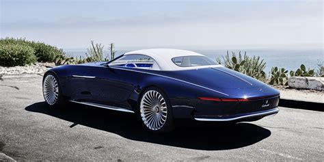 maubach car mercedes maybach 6 cabriolet concept the study of a 6