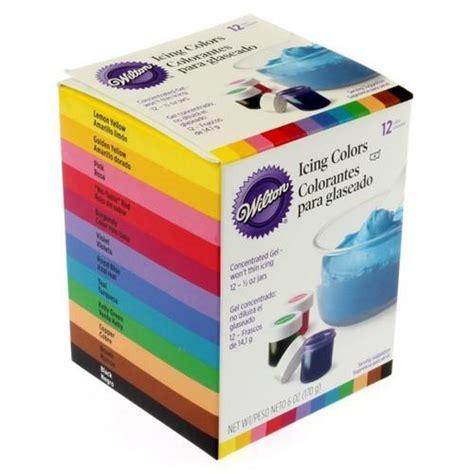 wilton food coloring americolor gel based food color wilton icing color set