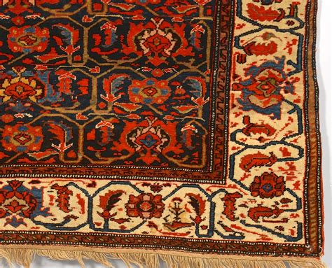 Mission Area Rug by Lot 245 Mission Malayer Area Rug Early 20th C