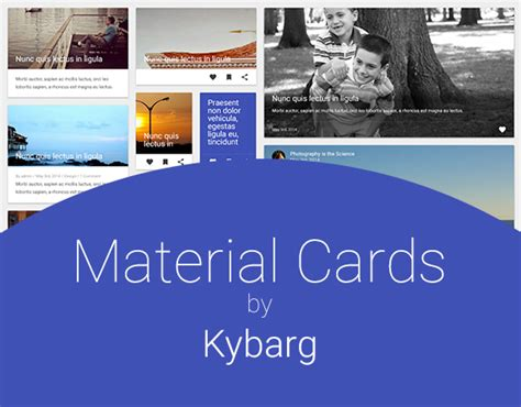 materials for card material design cards uplabs