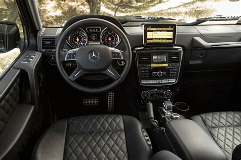 G Interior by 2013 Mercedes G63 Amg Test Motor Trend