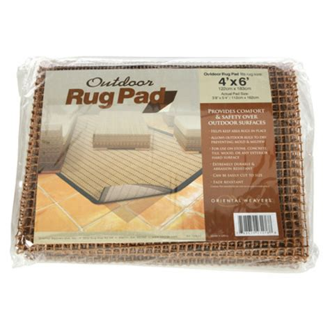 Outdoor Rug Pads Outdoor Rug Pad By Weavers Dfohome