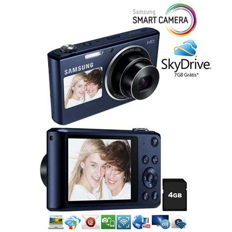 Kamera Samsung Smart Dv150f c 226 mera samsung smart dv150f preto cobalto wi fi embutido