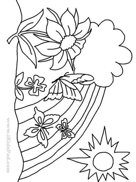 free coloring pages of trees and flowers t is for tree coloring page coloring pages flowers and trees