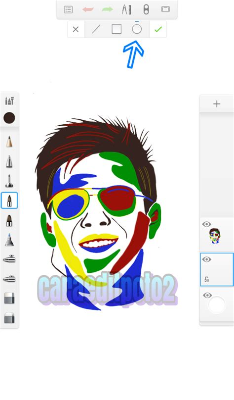 tutorial gambar pop art tutorial edit foto pop art sketchbook android