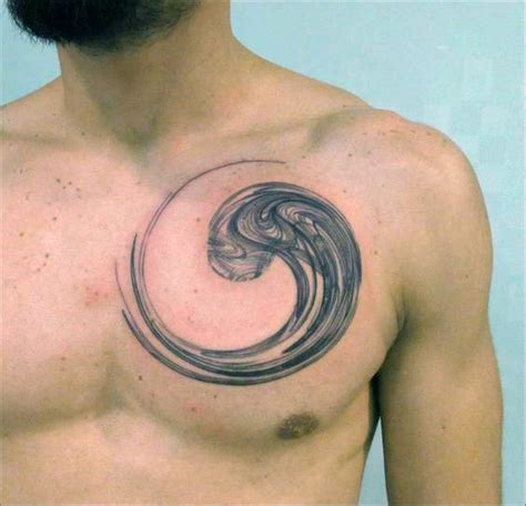 enso circle tattoo 60 enso designs for zen japanese ink ideas