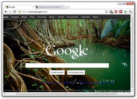 background themes for google homepage how to automatically rotate bing picasa or flickr