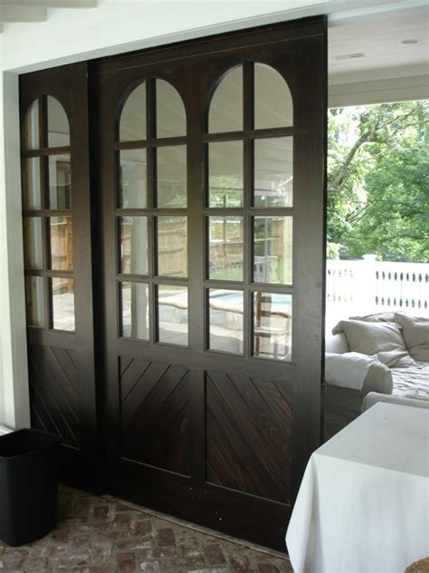 pool house barn doors traditional pool nashville   plane wood