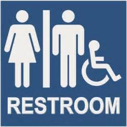unisex bathroom signs restroom signs ada braille unisex hc