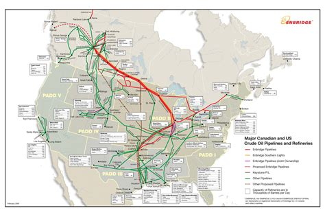 map of pipelines in america america pipeline map america map