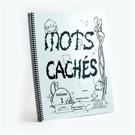 Mots Cach 233 S Vol 1 201 Ditions De L Envol 233 E