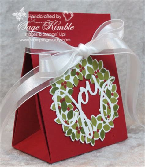 how to make a last minute christmas gift bag