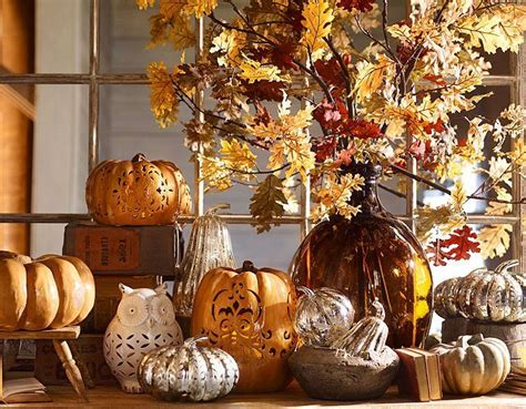 harvest home decor pottery barn entertaining