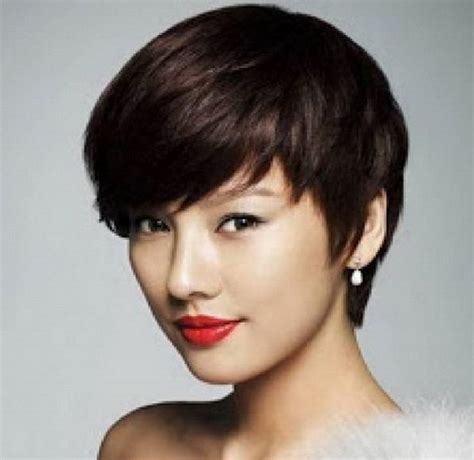 short hair styles that lift face korean girl hairstyles short for round face haircuts for